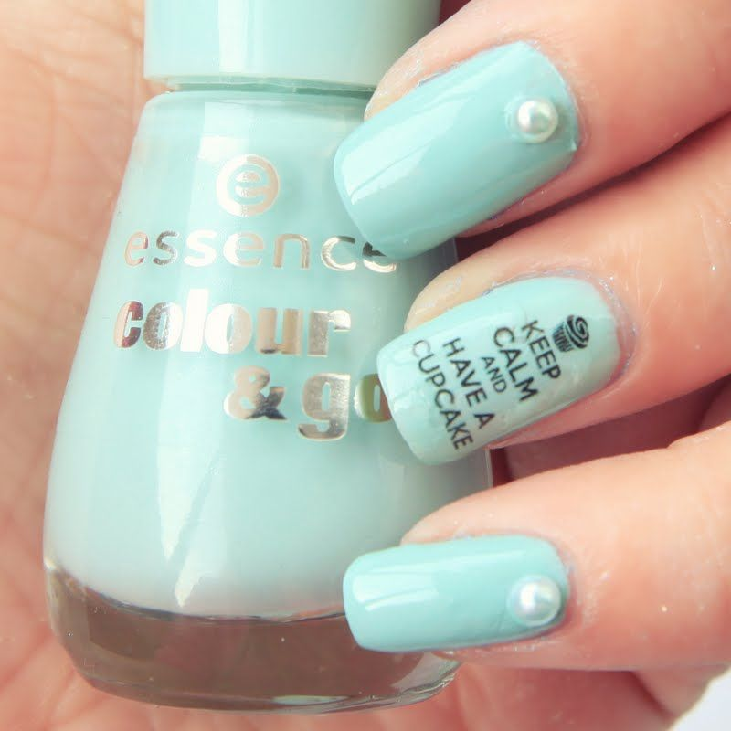 Keep Calm Nails: How to 1) Paint nails base color 2) Top coat 3) Dip ...