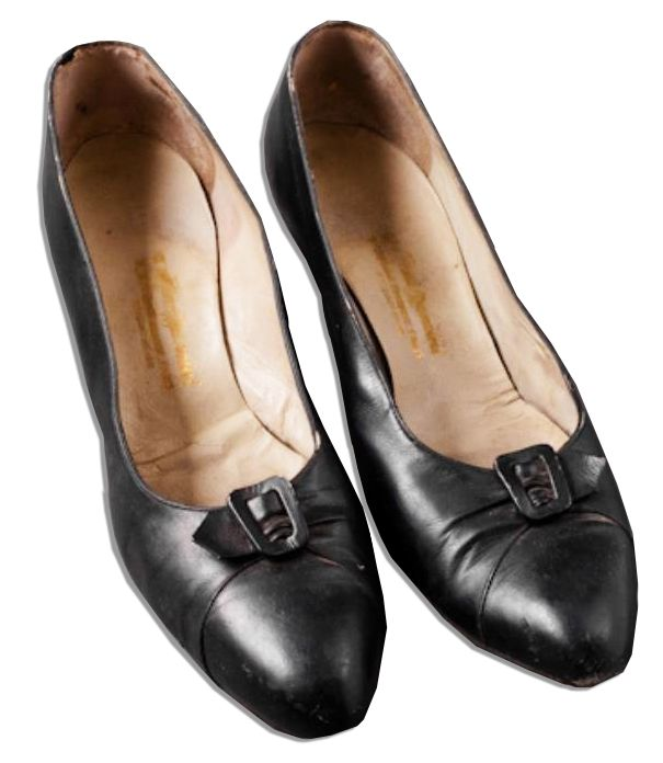 Jackie Kennedy Personally Owned And Worn Court Style Shoes The She Porized By Mancini