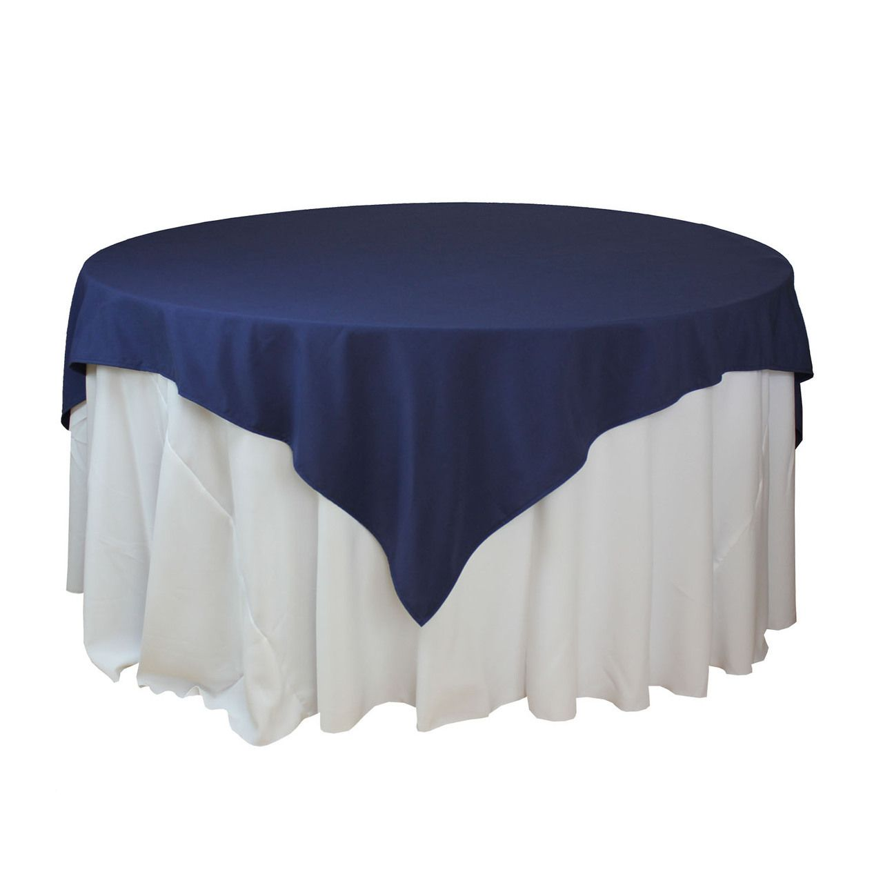85 X 85 Inch Navy Blue Square Tablecloths Navy Blue Table