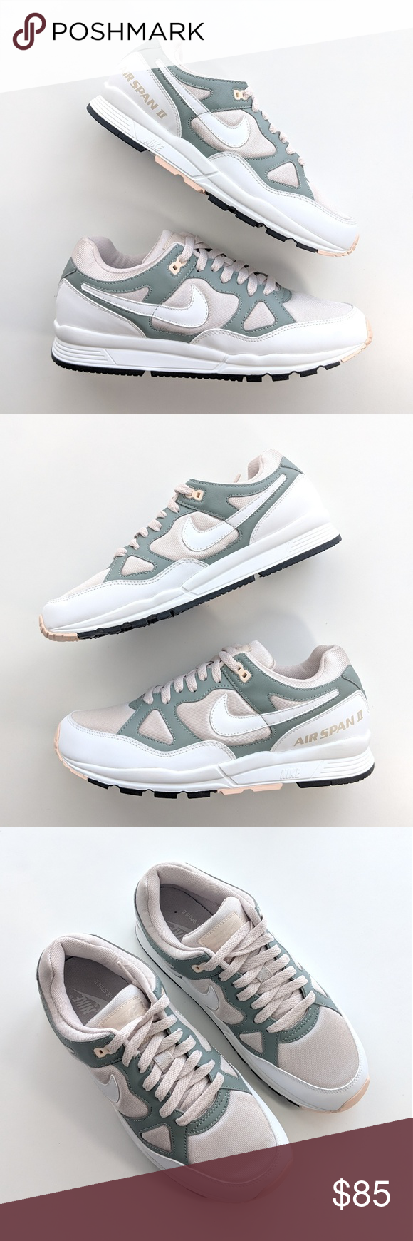 timeless design 55f6f 249df NEW Nike Air Span II Desert Sand Summit White Nike Air Span II Desert Sand.  Visit. April 2019