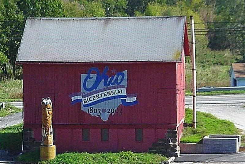 Summit County Ohio Watercolor barns, Barn art, Akron ohio