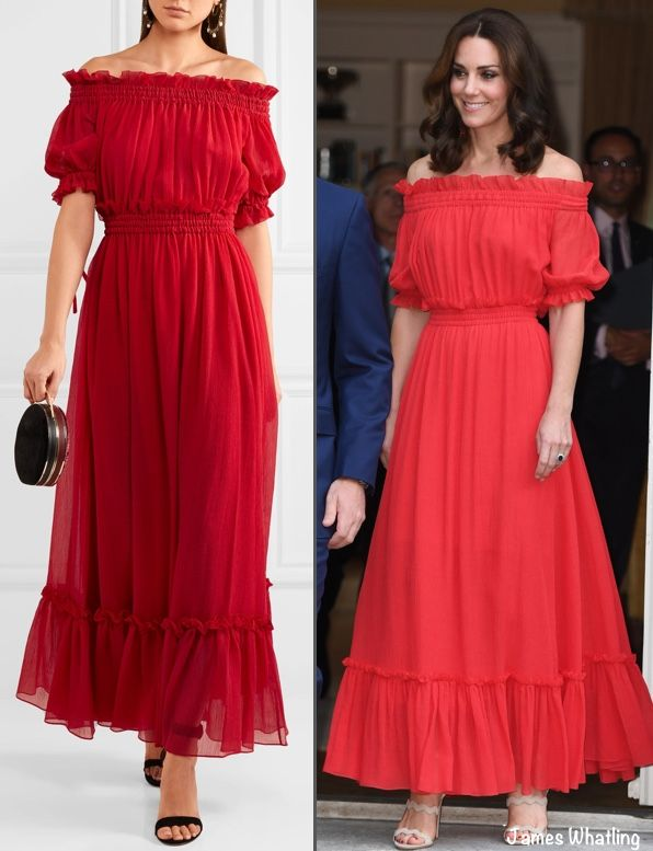 Kate Wears Alexander McQueen Maxi Dress for Berlin Party ...