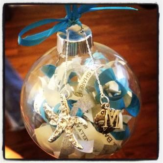 Wedding Invitation Christmas Ornament