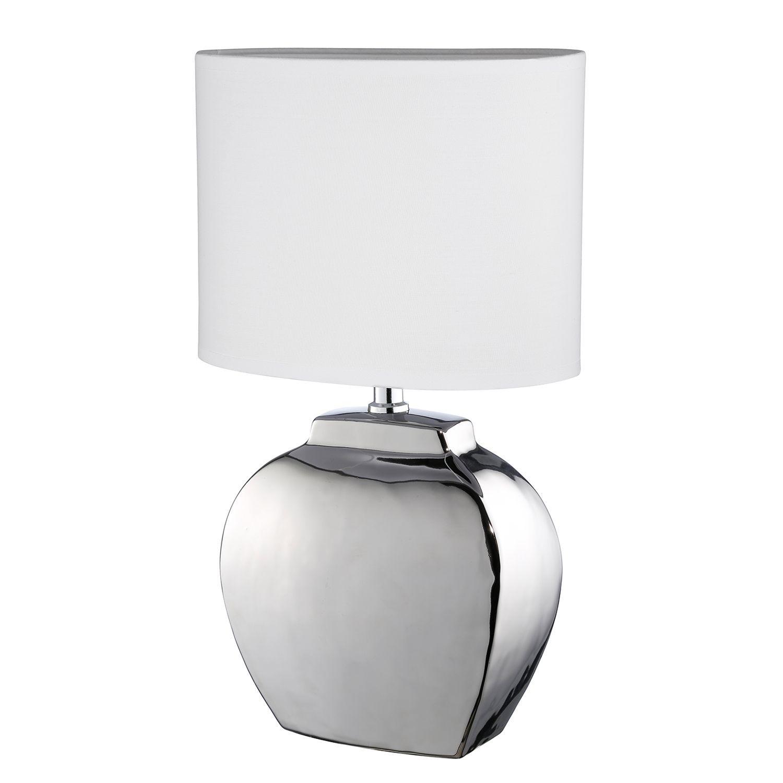 LED Nachttischleuchten mit Stoffschirm /& Holzfuß Tischleuchten fürs Wohnzimmer