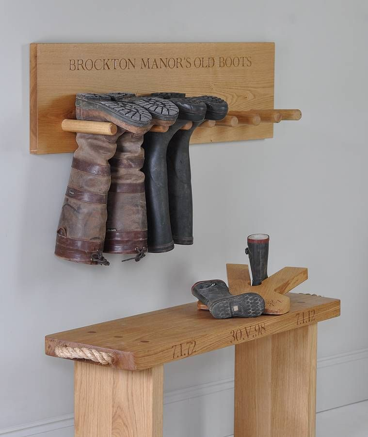 Perfect Free Coat And Boot Rack Image: Diy Boot Hanger - Google Search