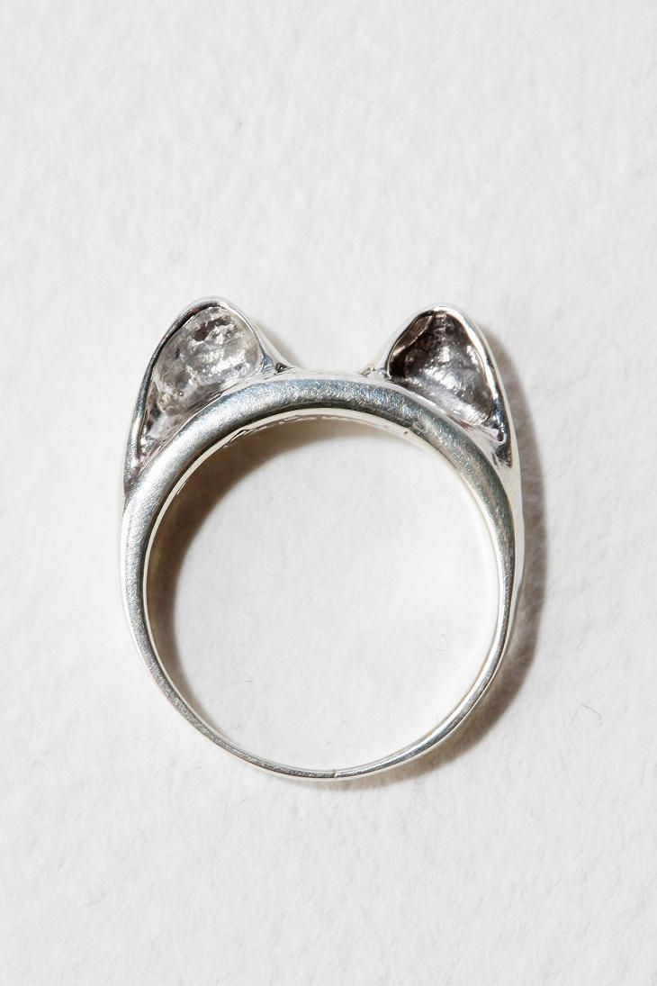 621042df9 I need this under my xmas tree. Calourette Cat Ear Ring | Fashion ...