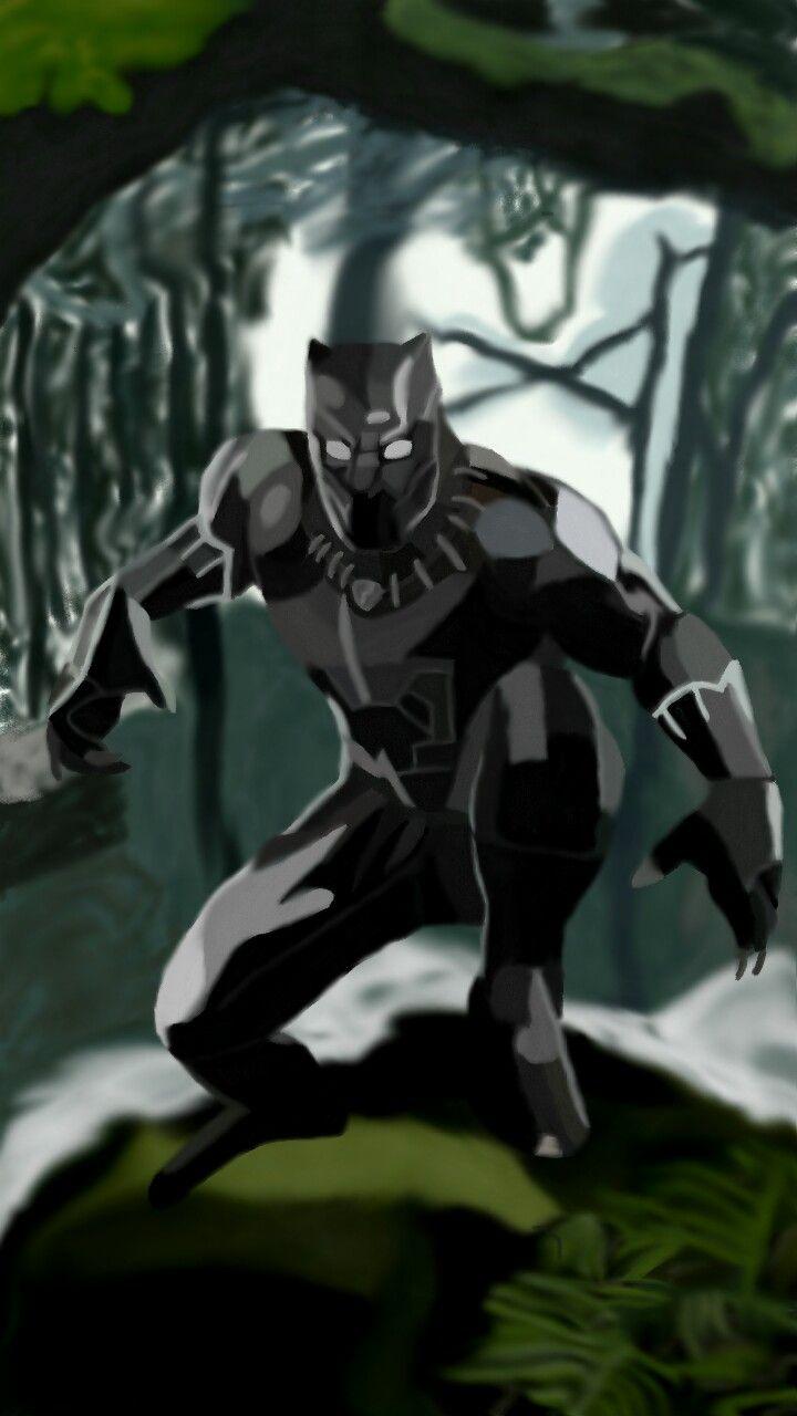 Black Panther My drawings, Black panther, Superhero