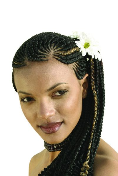 Long Ghanaian Lines Braids By Darling Kenya Kifahari Enterprises