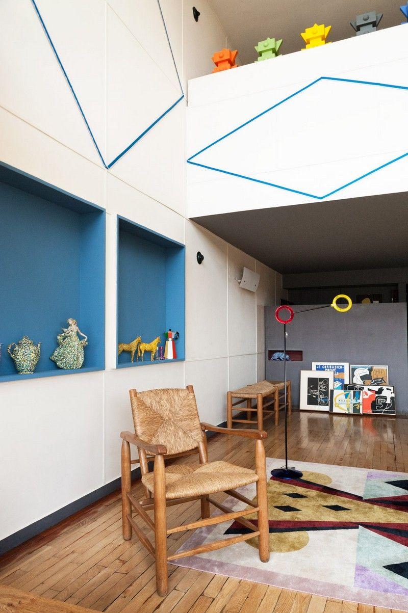 Le corbusier apartment 50 at the unité dhabitation in marseille