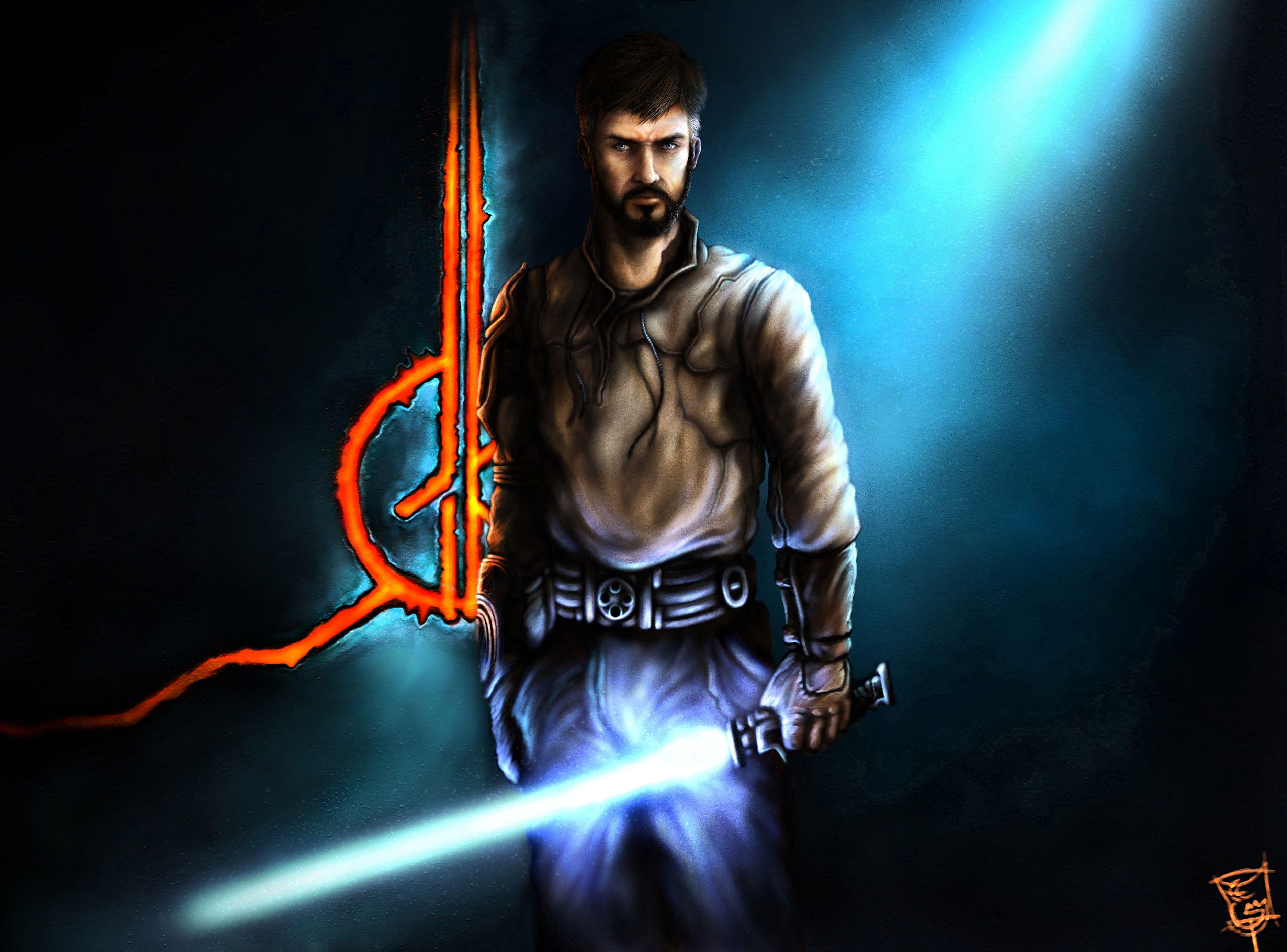 Jedi Knight Kyle Katarn By Thegameworld Deviantart Com On