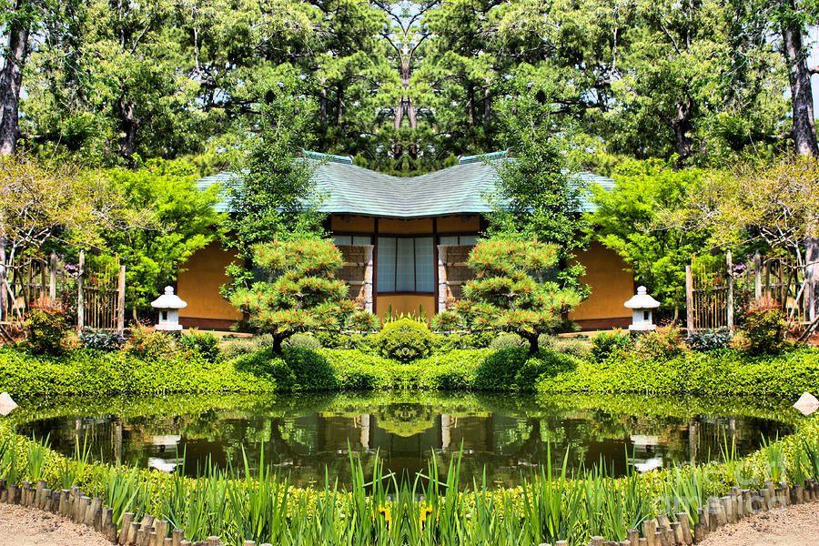 14 Hidden Gardens in Houston Hermann park, Japanese garden