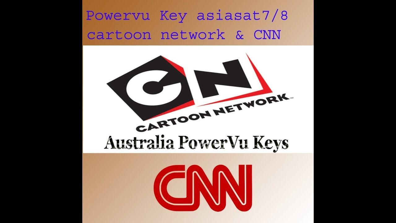 POWERVUKEY CARTOON NETWORK AND CNN on asiasat 7/8 105 5e | Sony