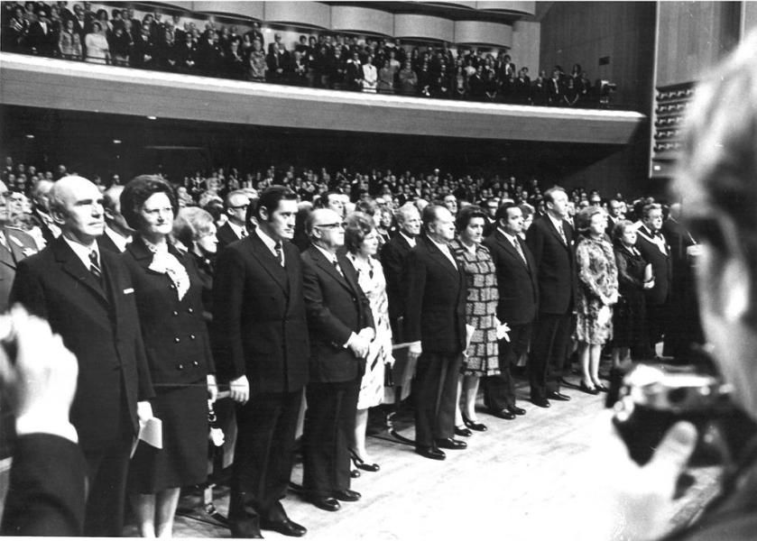 Bruno Kreisky: Am 1. März 1970 wurde die SPÖ erstmals stärkste Kraft in Österreich und Bruno Kreisky wenige Wochen später Bundeskanzler – dies markierte den Beginn einer prägenden Ära. Mehr dazu hier: https://www.nachrichten.at/nachrichten/150jahre/ooenachrichten/Eine-neue-Aera-beginnt;art171762,1668486 (Bild: APA)