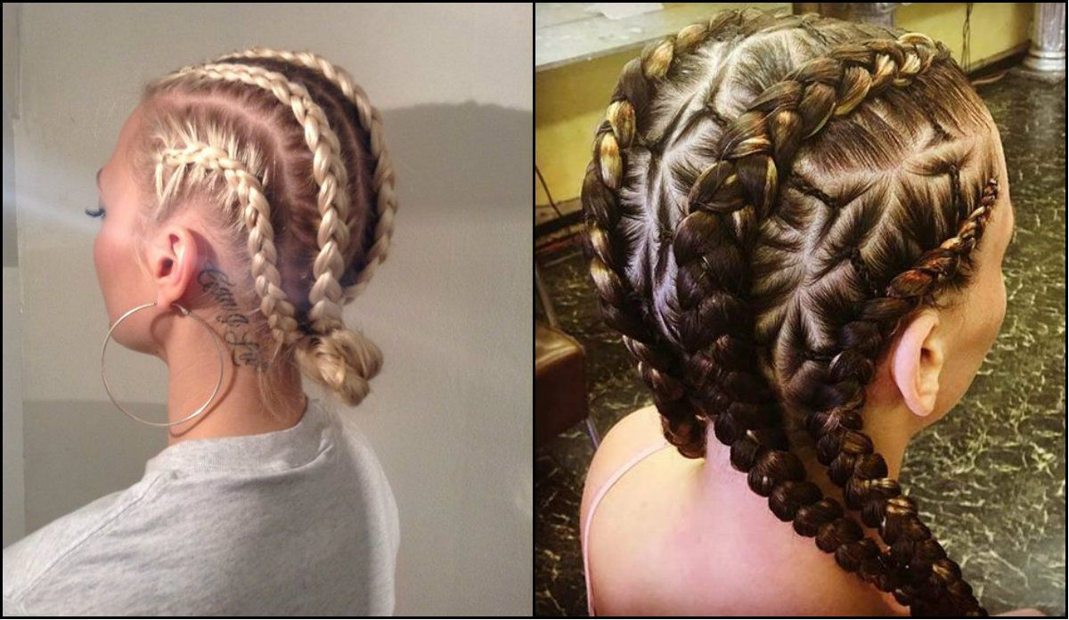 white girl box braids hairstyles to try right away // #away