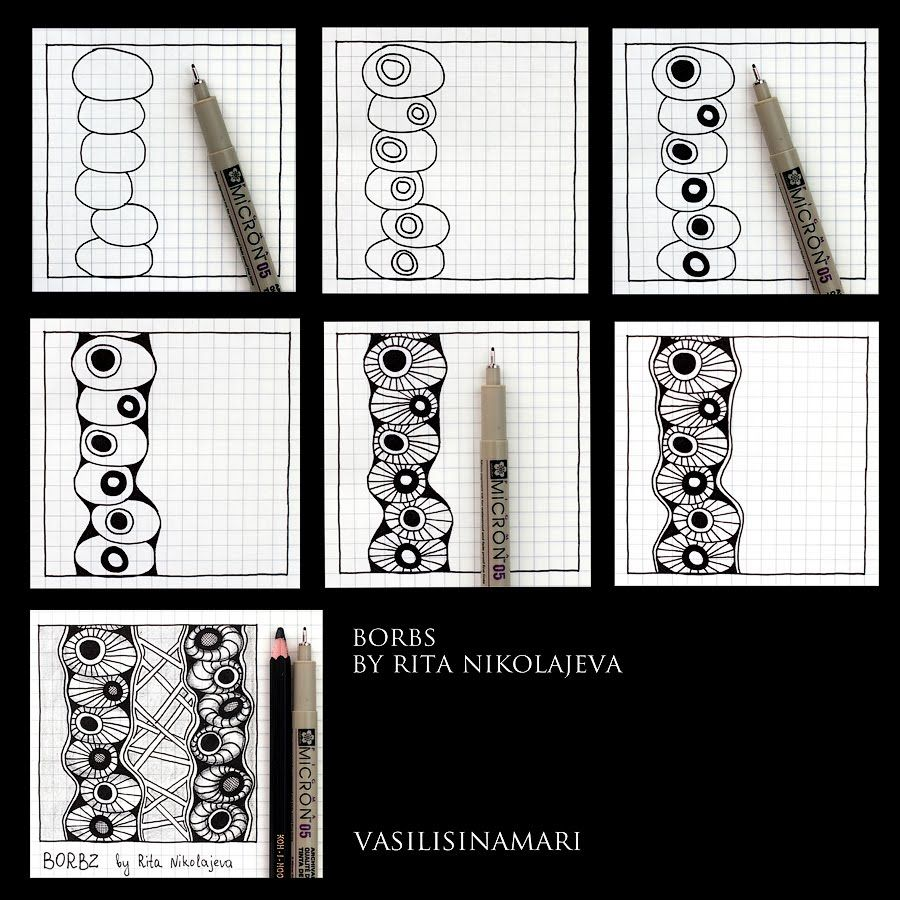how to draw clothes patterns step by step