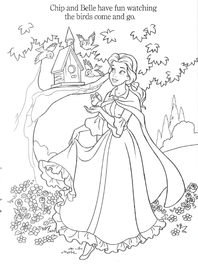 Coloring Book Pdf Princess