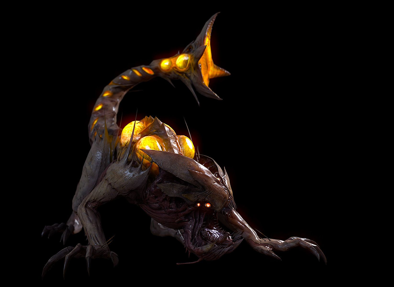 Cryptid Scorpion - Call of Duty: Ghosts - Extinction Mode by ...