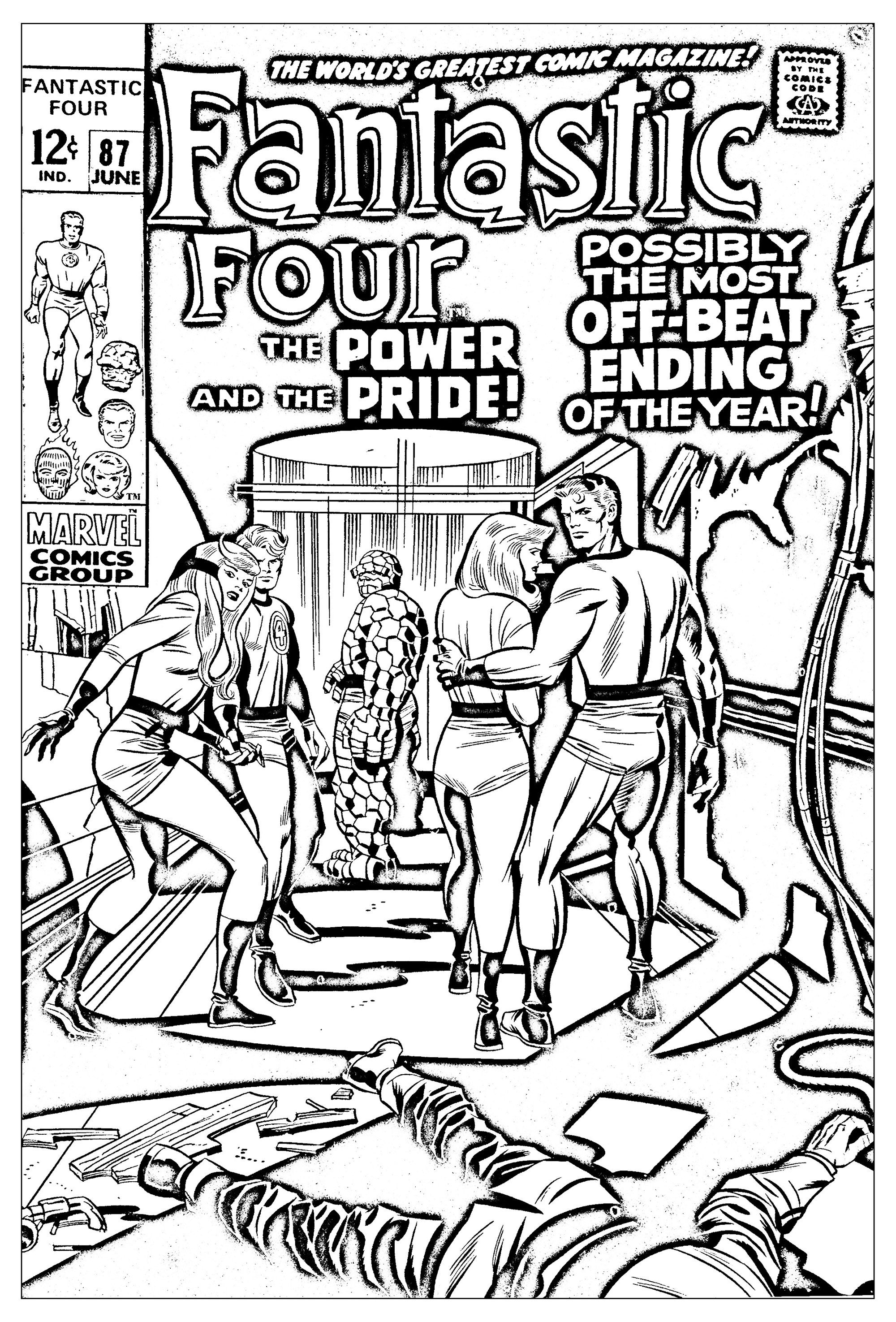 Comics Fantastic Four 1969 From The Gallery Books