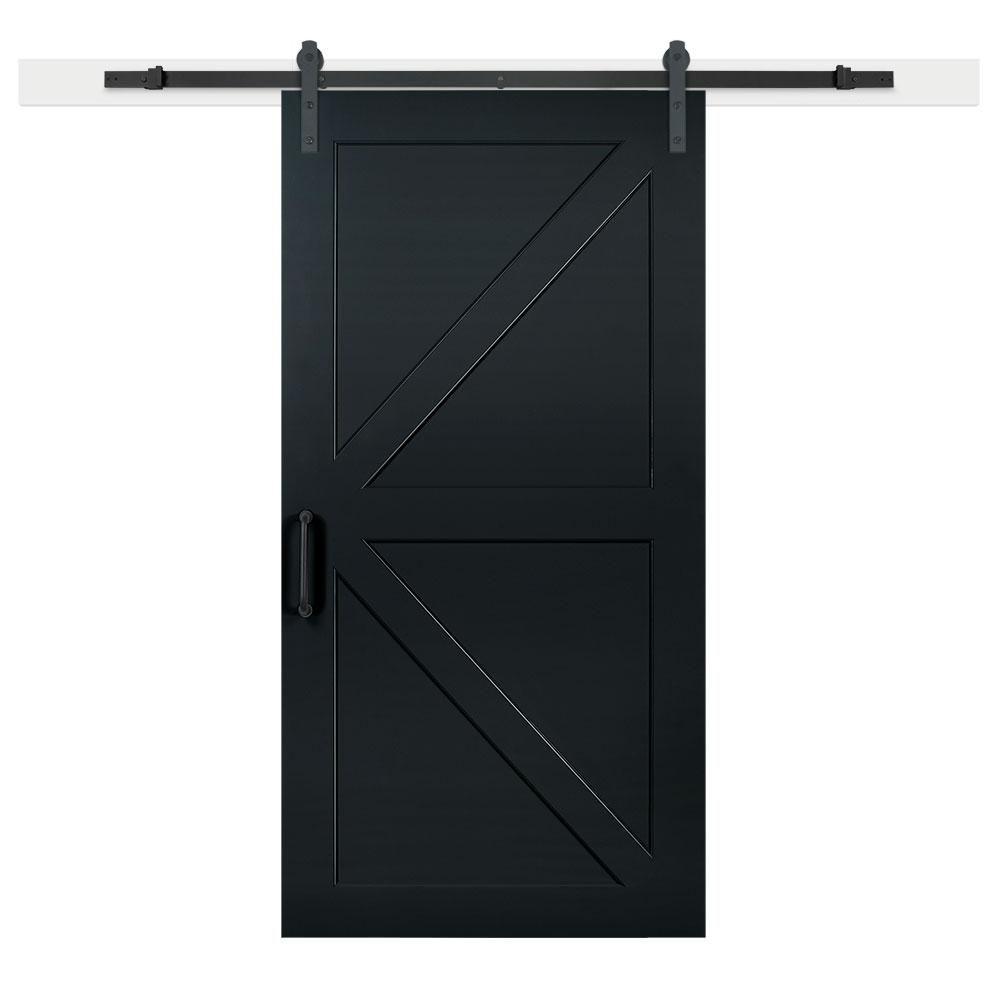 Jeff Lewis 42 In X 84 In Barn Door Hanging Barn Doors Sliding Door Hardware