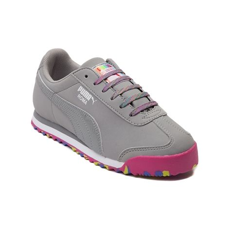 Shop for Youth Puma Roma Athletic Shoe in Gray at Journeys Kidz. Shop today  for the hottest brands in mens shoes and womens shoes at JourneysKidz.com.