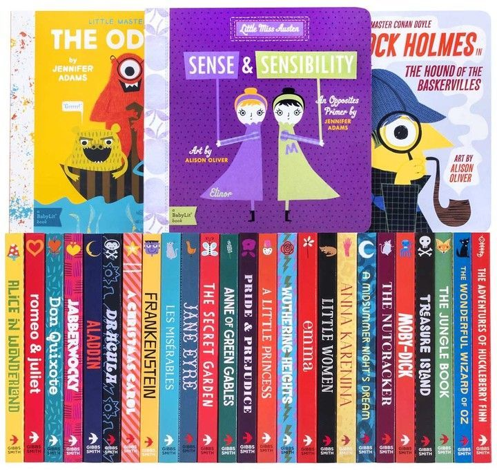 Babylit Complete Book Set Stories For Kids Books Book Collection