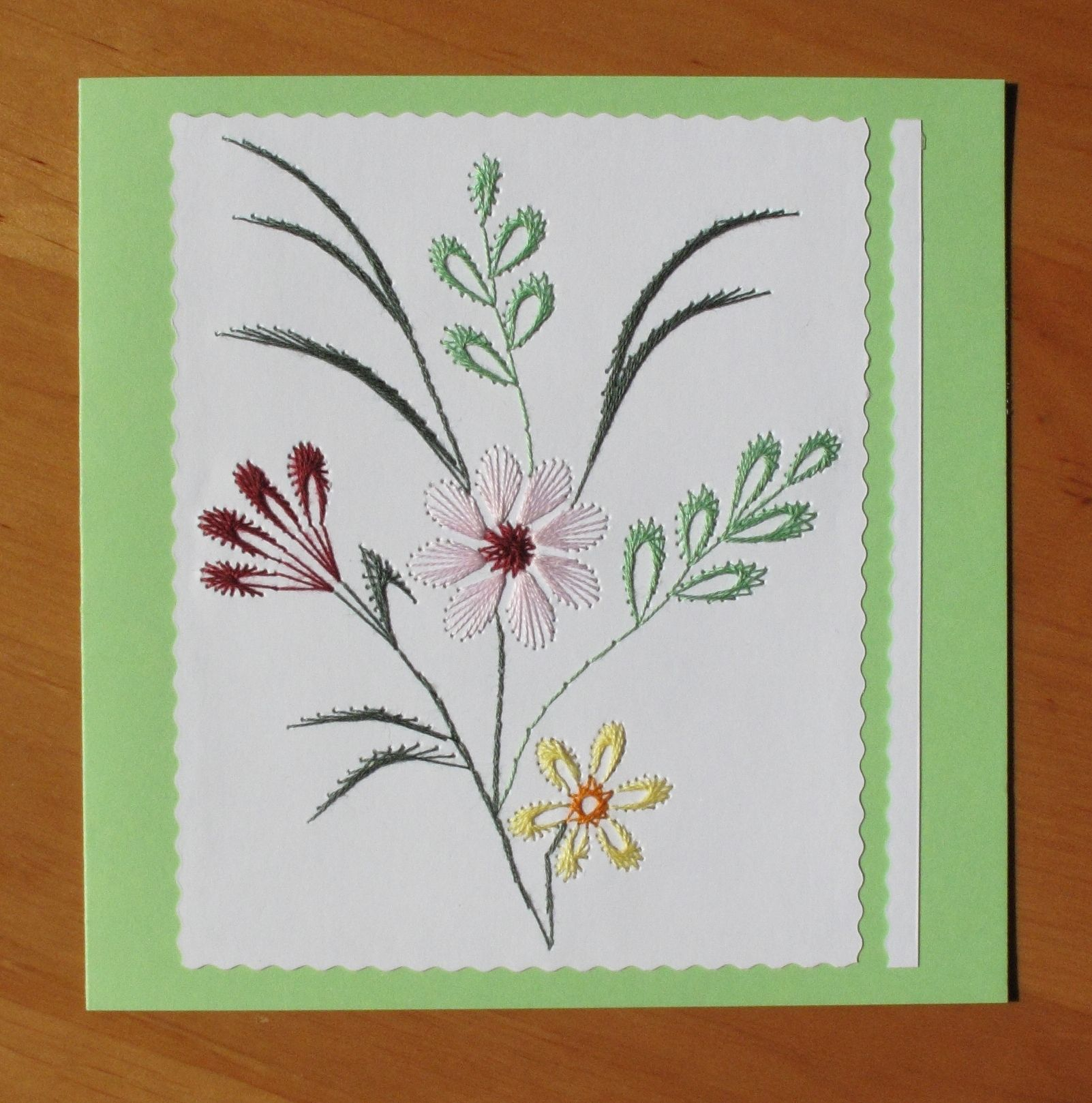Pin by anna pilarska on my stiching cards pinterest embroidery paper embroidery flower embroidery embroidery ideas sewing cards craft cards cards diy handmade cards card patterns stitch patterns kristyandbryce Image collections