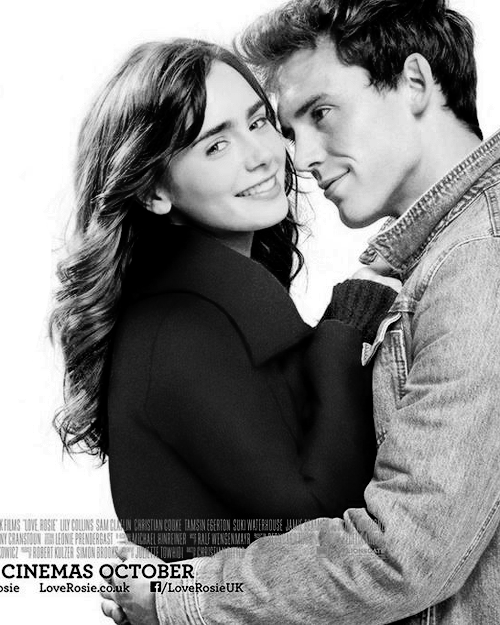 Lily Collins & Sam Claflin | New 'Love, Rosie' poster ...