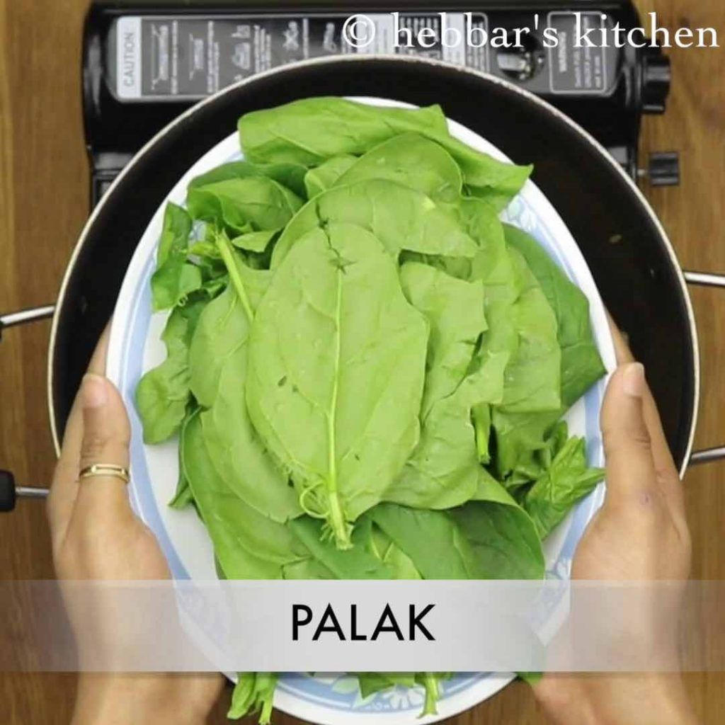 palak soup recipe spinach soup recipe cream of spinach
