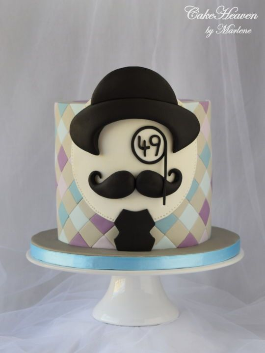 Moustache Birthday Cake Cake Pinterest Birthday Cake Cake And