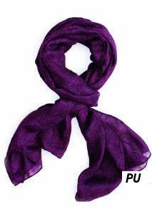 Jo Paisley Print Scarf in purple