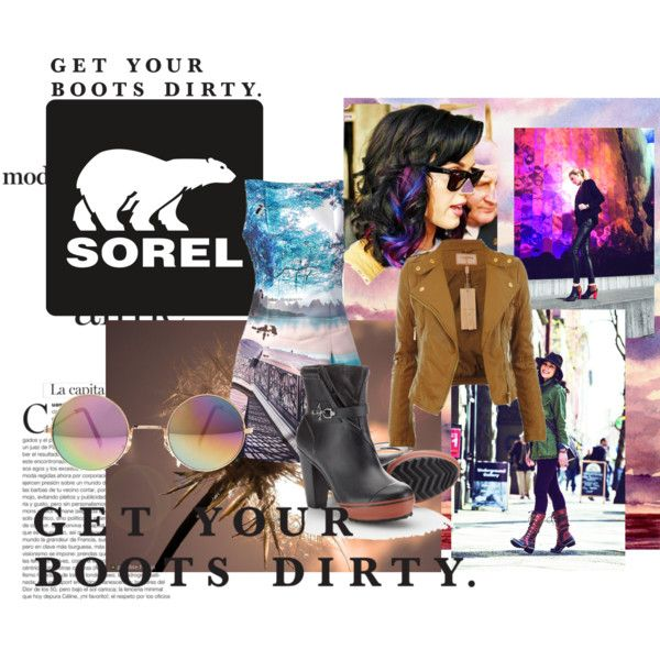 """""""Get Your Boots Dirty"""" by hartantinora on Polyvore"""