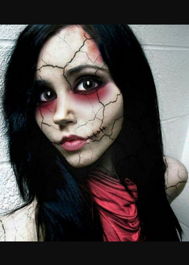 Maquillage C\u0027est bientôt halloween #PHYSIQUE Pinterest - halloween horror makeup ideas
