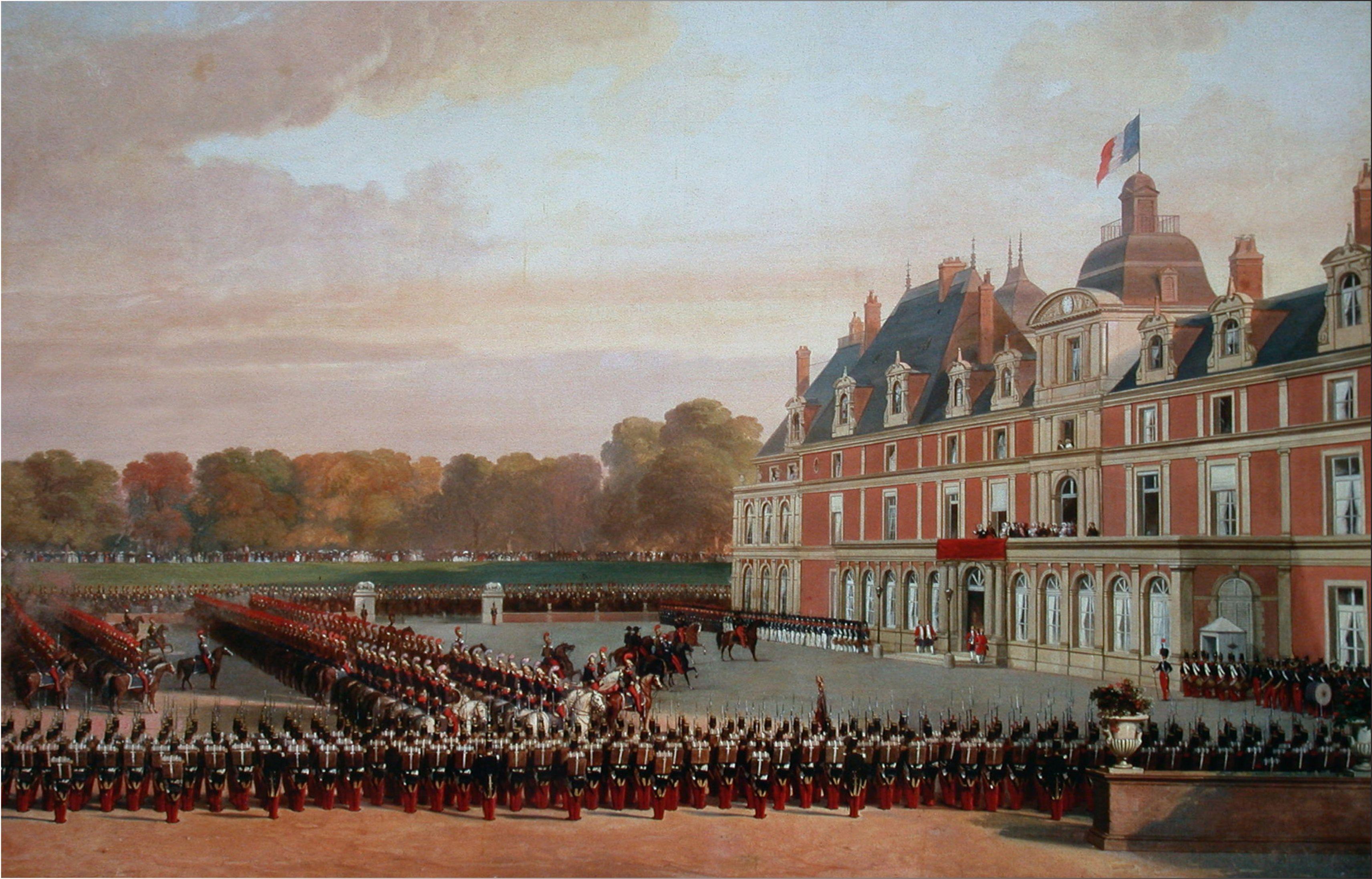 L'arrivée de la Reine Victoria au Château d'Eu, en 1843 ou 1845.