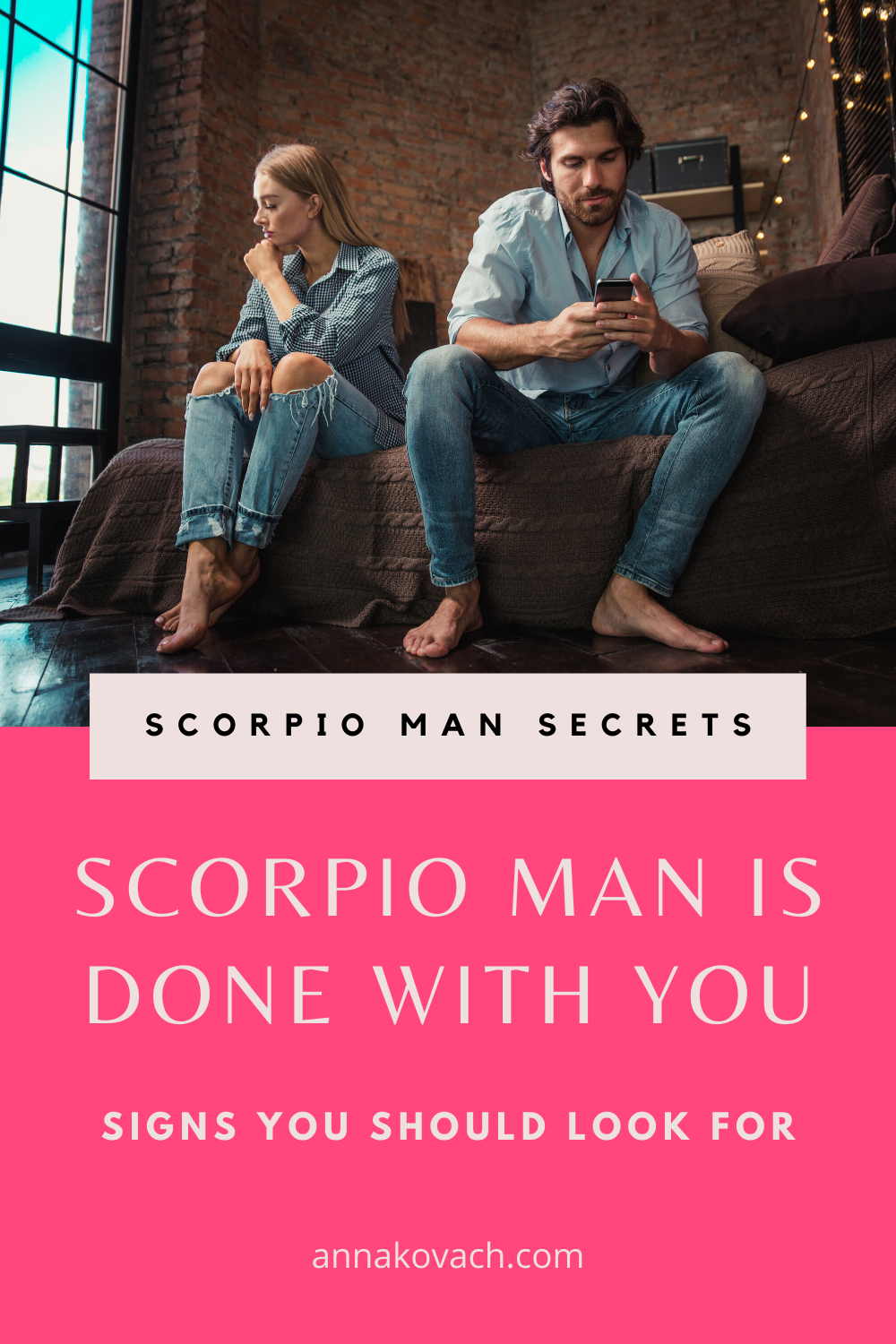 Likes you man when a really scorpio Signs a
