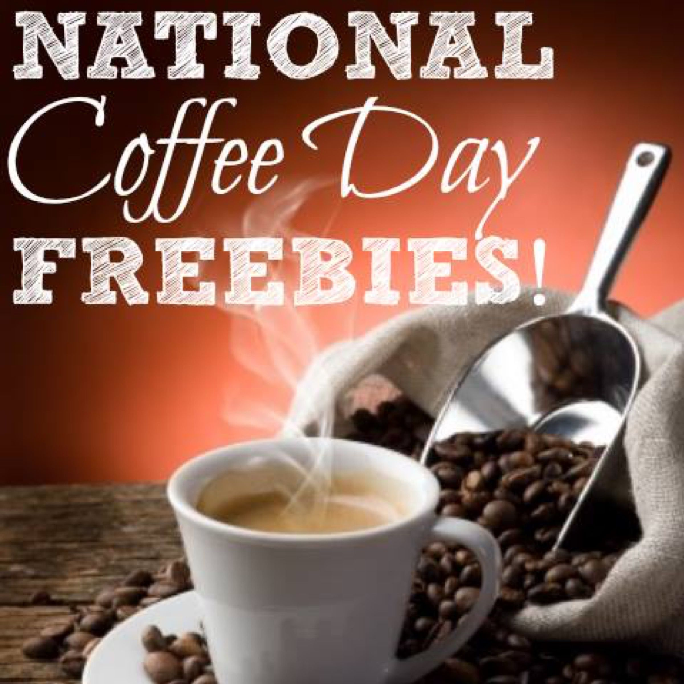 National Coffee Day (9/29) Freebies & More Get a free