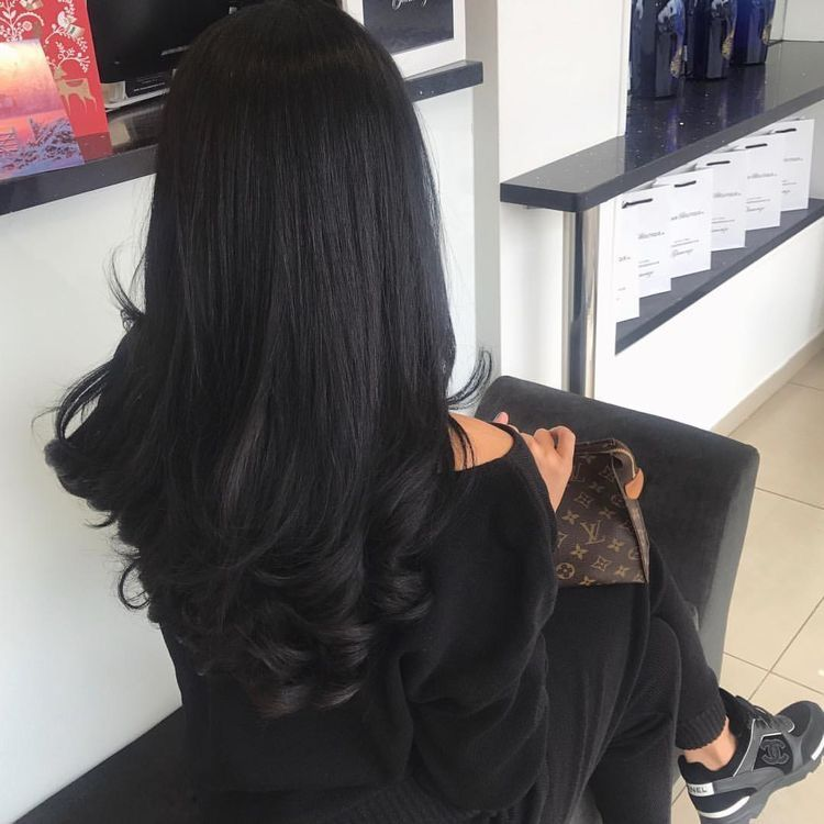 Pinterest Nandeezy Hair Color For Black Hair Hair Styles Long Hair Styles