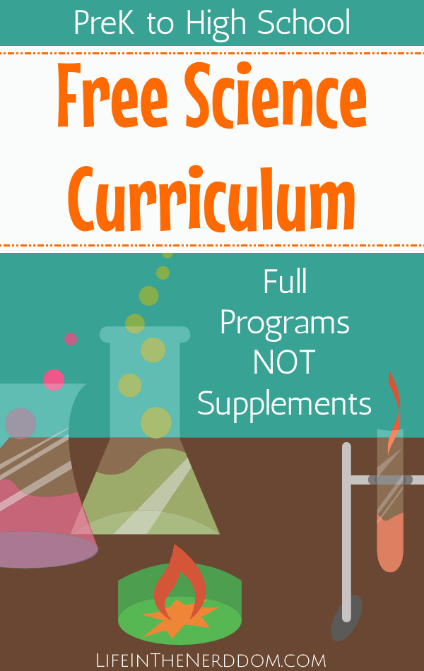 Free Science Curriculum for All Grades   Homeschooling ...