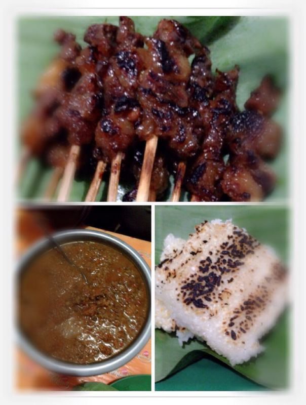 Sate Maranggi The Original Recipe Of Cianjur Its A Roasted Stick Of Several Pieces Of Beef Marinated By A Certain Herb Served Resep Masakan Masakan Resep