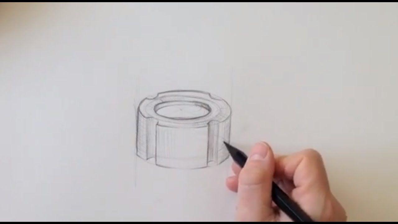Zeichnen Lernen Akademie Ruhr Tutorials Ellipsen In Perspektive