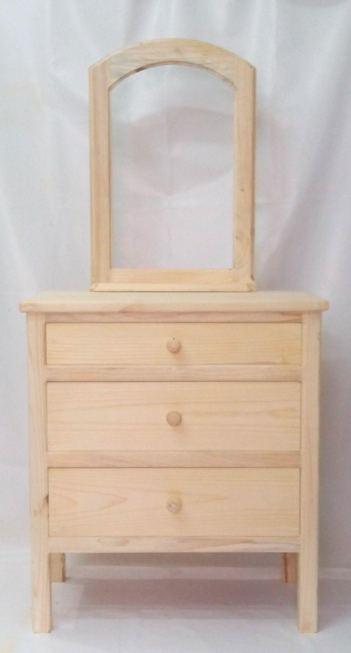 Tocador clasico de madera   Muebles de madera   Pinterest   Muebles ...