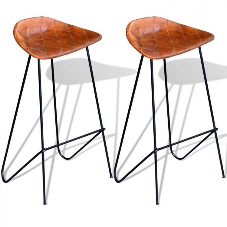 Superb Details About Dining Table Bar Stools Set Of 2 Vintage Gmtry Best Dining Table And Chair Ideas Images Gmtryco