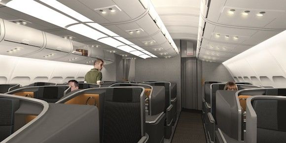 Sas New Business Class Seat I One Mile At A Time Business Class Seats Business Class Aircraft Interiors