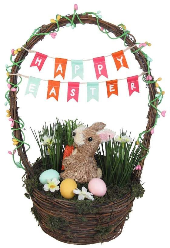 Celebrate easter together sisal bunny basket decorte idea for a celebrate easter together sisal bunny basket decorte idea for a easter basket negle Image collections