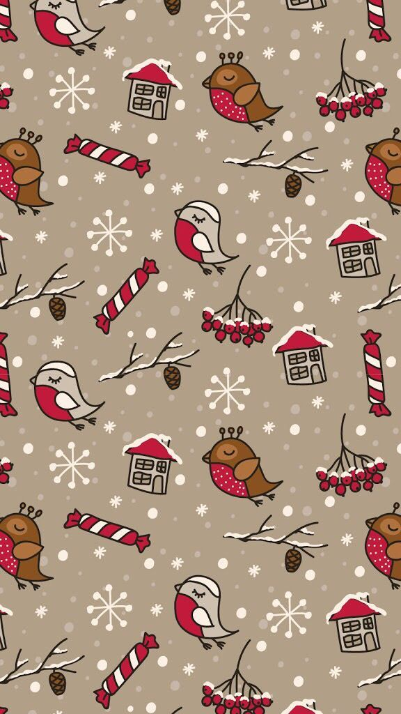 25 Free Christmas Wallpapers for iPhone - Cute and Vintage Backgrounds #thebestwallpapers
