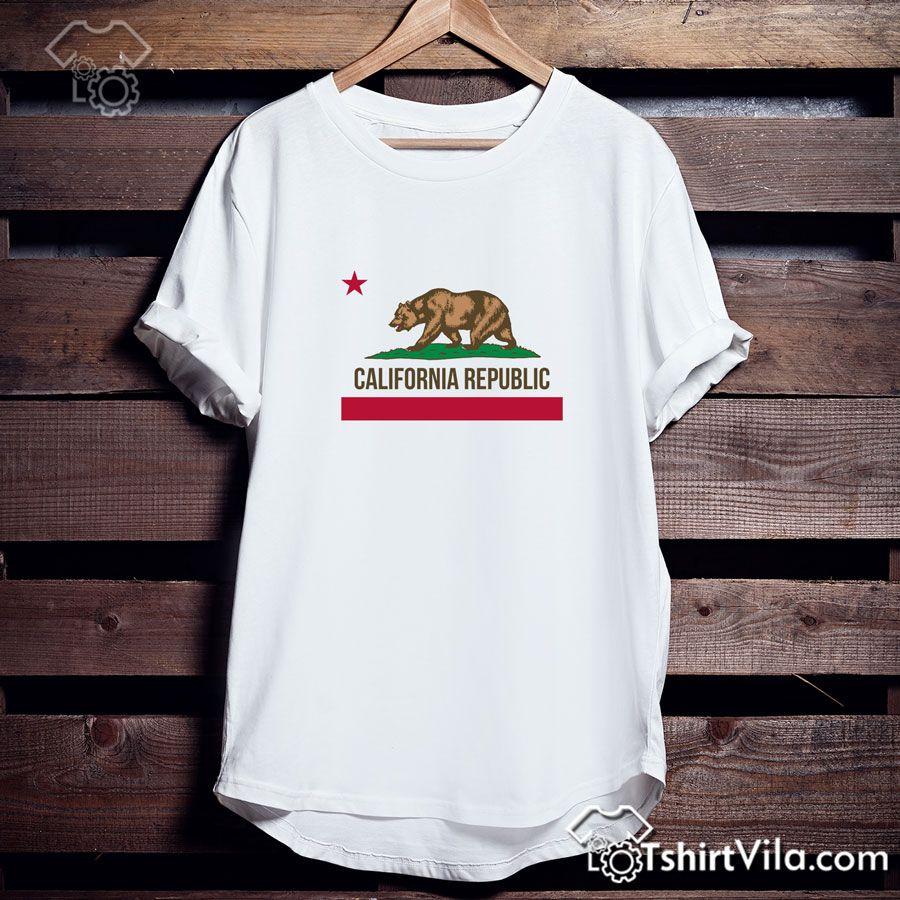 California Republic Tshirt – Tshirt Adult Unisex Size S-3XL