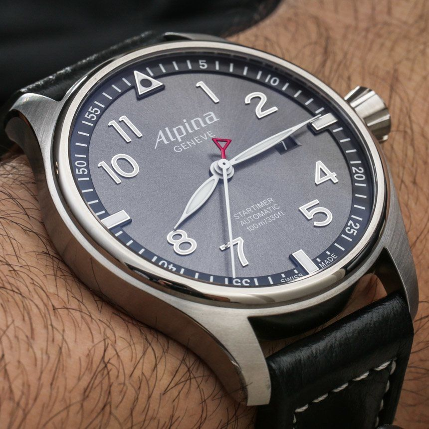 Alpina Startimer Pilot Automatic Watches For HandsOn By - Alpina automatic watch