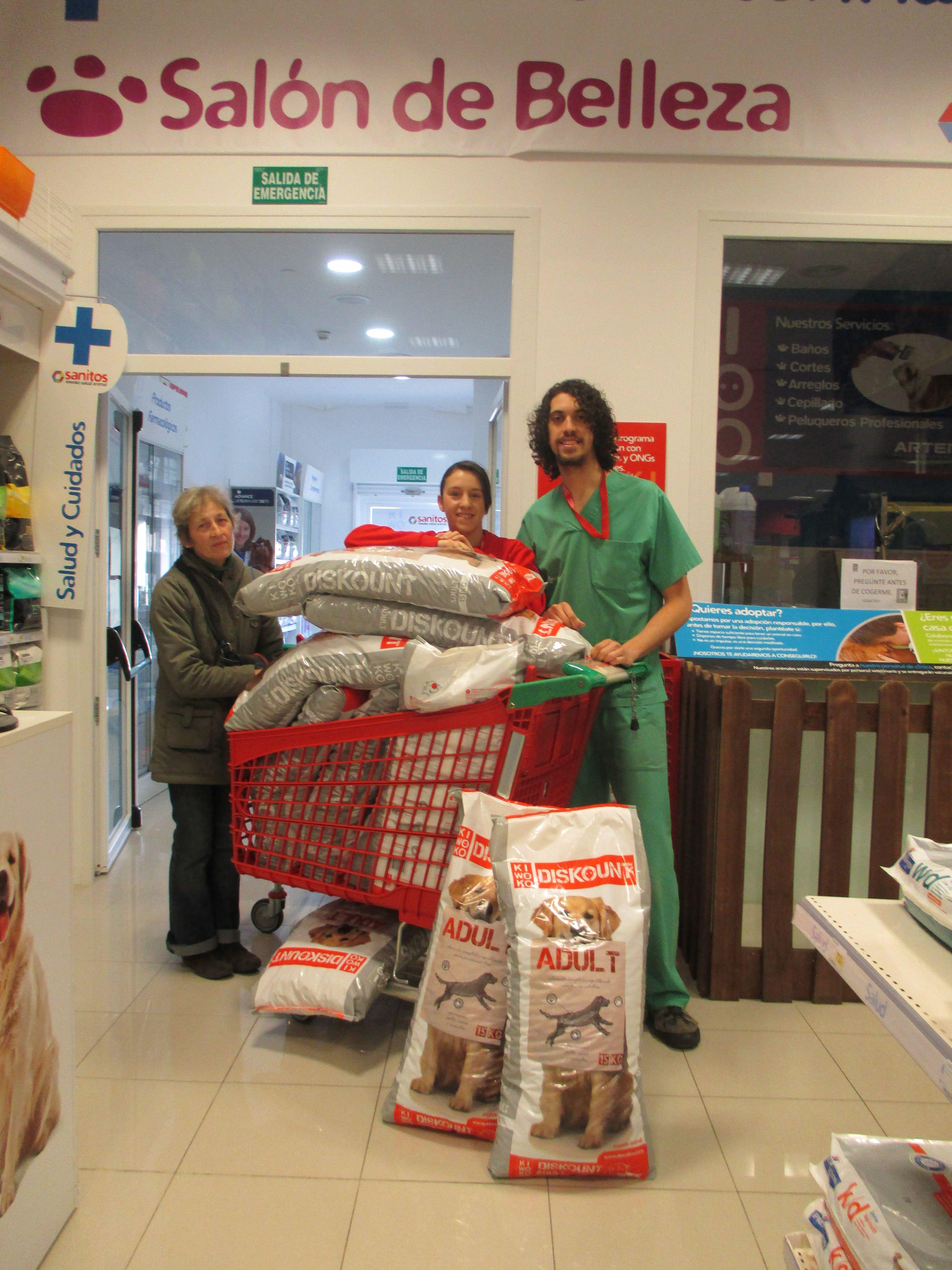 Kiwoko Logrono Donacion A Protectora De Animales Rioja Tienda
