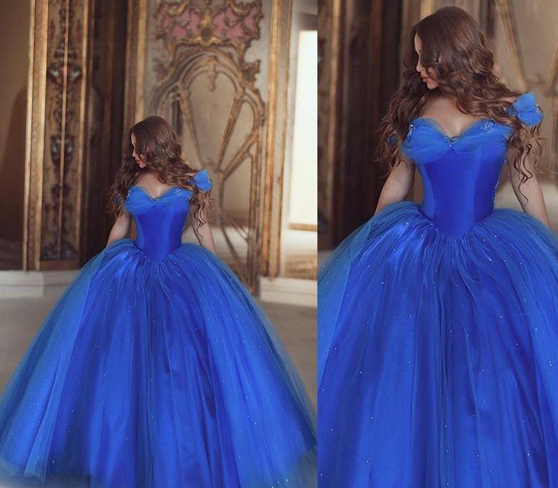 ea967c377ad Cinderella Quinceanera Dress Formal Prom Dresses Blue Quinceanera Dress  Princess Quinceanera Dress S on Luulla