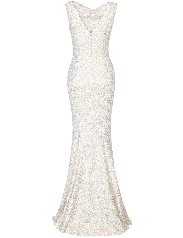 Muxxn ladies elegant sleeveless long vintage juniors wedding ball