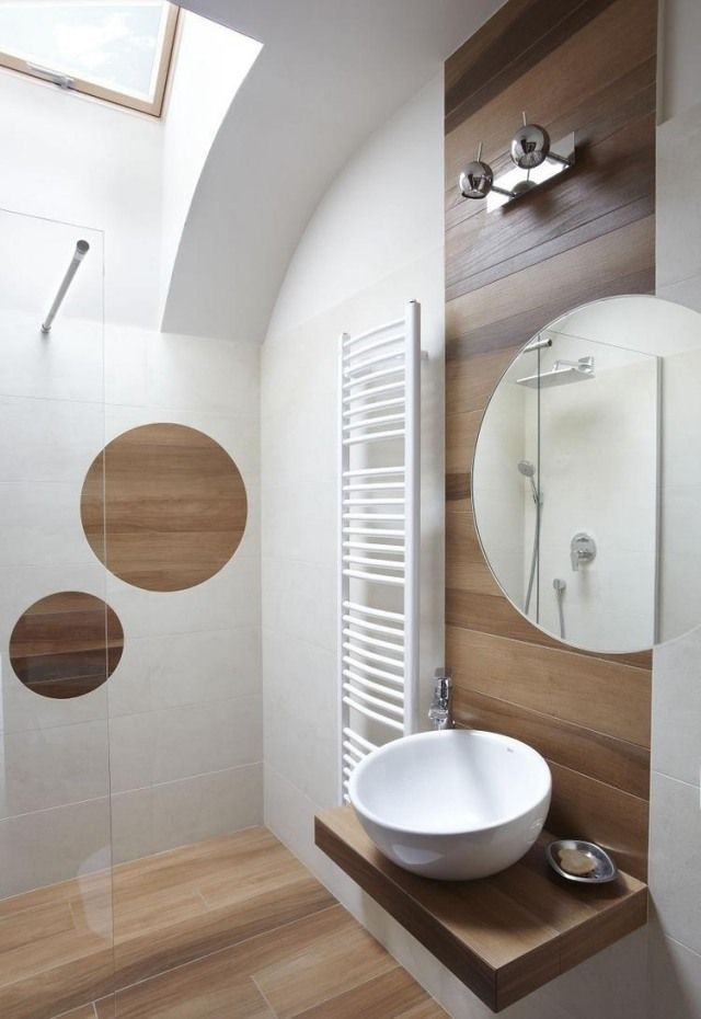 Fliesen Mit Holzoptik badideen fliesen holzoptik behegbare dusche glas abtrennung